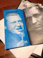 Folder spektaklu Jacek Kaczmarski Lekcja historii